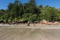 Cape Hillsborough beach Royalty Free Stock Photo