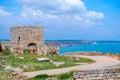 Cape Kaliakra fortress Royalty Free Stock Photo