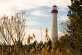 Cape May Lighthouse Royalty Free Stock Photo