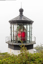 Cape Meares Lighthouse Fresnel Lens Royalty Free Stock Photo