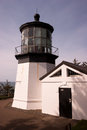Cape mears lighthouse pacific west coast oregon united states a footpath leads down to the on a sunny day Stock Photo