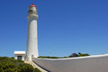 Cape nelson australia lighthouse of portland Stock Photo