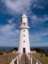 Cape Otway Lighthouse Stock Photo