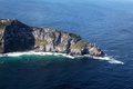 Cape point aerial view of the southern end of the peninsula near town south africa Stock Photography