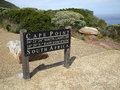 Cape Point Sign Royalty Free Stock Photo