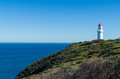 Cape Schanck lighthouse on a cliff Royalty Free Stock Photography