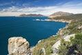 Cape Tourville lookout, Freycinet National Park, Tasmania, Australia Royalty Free Stock Photo