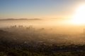Cape Town On A Misty Morning Royalty Free Stock Photos