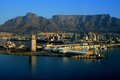 Cape town south africa panorama Royalty Free Stock Image
