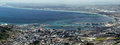 Cape town view on south africa from the top of table mountain Royalty Free Stock Photos
