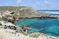 Cape Vlamingh: Eroded Limestone Royalty Free Stock Photo