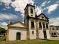 Capela de Santa Rita, Paraty, Brazil. Royalty Free Stock Images