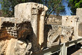 Capernaum ruins. Stock Photos