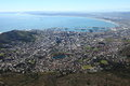 Capetown south africa the city in Royalty Free Stock Image
