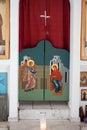 Capilla Greek-orthodox dentro del detalle Foto de archivo