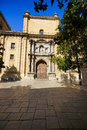 The capilla real de granada or royal chapel located in the city of granada is a mausoleum that houses the remains of the catholic Royalty Free Stock Photography