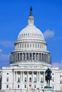 Capital building Royalty Free Stock Photo