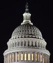 Capital dome at night this is the of the us building in washington dc Royalty Free Stock Image