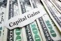 Capital Gains money