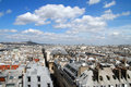 Capital Skyline. Paris. Stock Photography
