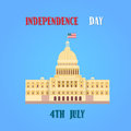 Capitol Building United States Of America Senate House Independence Day Royalty Free Stock Photo