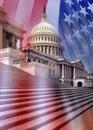 Capitol Building - Washington DC Royalty Free Stock Photo