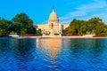 Capitol building Washington DC US congress Royalty Free Stock Photo
