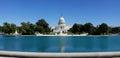 Capitol Hill Panorama, Washington, DC Royalty Free Stock Photo