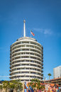 Capitol Records Building - Los Angeles, California, USA Royalty Free Stock Photo