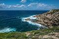Capo Mannu Cliffs, Sardinia Royalty Free Stock Photo
