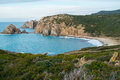 Capo pecora in sardinia on west coast of italy Royalty Free Stock Image