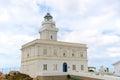 Capo testa lighthouse sardinia italy view of the Royalty Free Stock Photos
