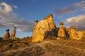 Cappadocia,土耳其 图库摄影