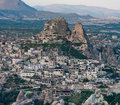 Cappadocia cave city in turkey Royalty Free Stock Image