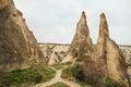 Cappadocia landscape near Goreme
