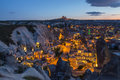 Cappadocia landscape, Turkey Royalty Free Stock Photo