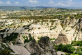 Cappadocia landscape Royalty Free Stock Photo