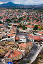 Cappadocia Roof Tops, birds eye  Royalty Free Stock Photography