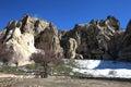 Cappadocia. Ancient cave church Royalty Free Stock Photo