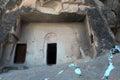 Inside Ancient cave church at Cappadocia Royalty Free Stock Photo
