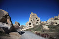 Cappadocia. Ancient cave church Royalty Free Stock Photo