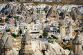 Cappadocia. Stone pillars Royalty Free Stock Images