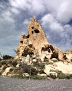Cappadocia turkey this beautiful and fabulous word is the region in the central part of on the anatolian plateau at an altitude of Royalty Free Stock Photography