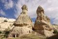 Cappadocia turkey in central anatolia Royalty Free Stock Image