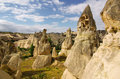 Cappadocia turkey in central anatolia Royalty Free Stock Images