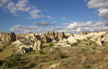 Cappadocia turkey in central anatolia Royalty Free Stock Photos