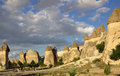 Cappadocia turkey in central anatolia Royalty Free Stock Photo