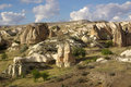 Cappadocia turkey in central anatolia in in summer day Royalty Free Stock Photos