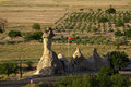 Cappadocia turkey in central anatolia in in summer day Royalty Free Stock Image