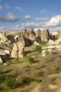 Cappadocia turkey in central anatolia in in summer day Royalty Free Stock Images